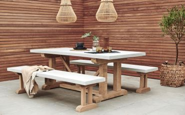 St Emilion Outdoor Concrete Table