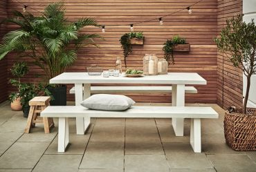Woburn Outdoor Concrete Bench